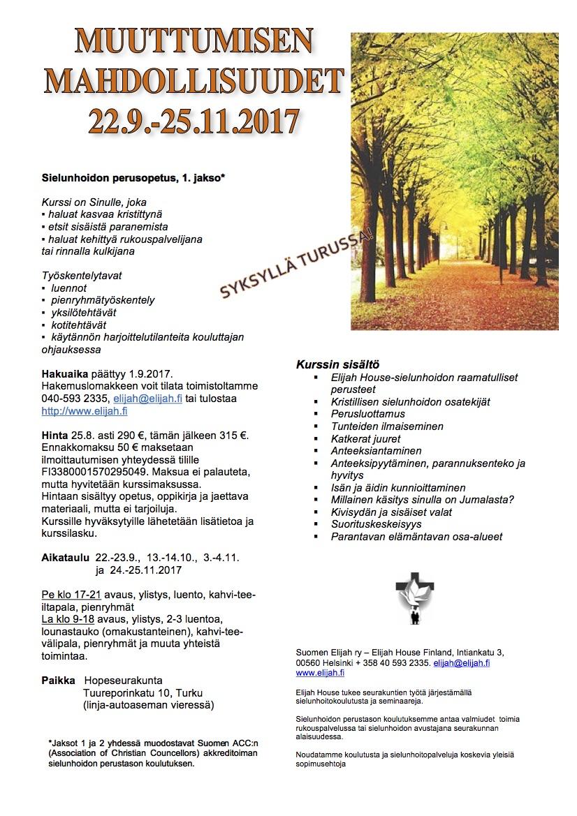 MM 1.jakso 22.9.-25.11.2017 Turku